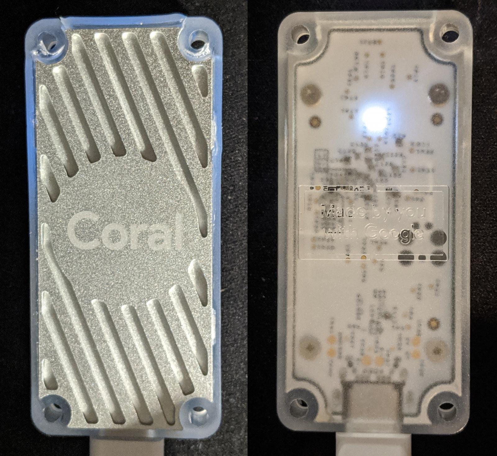 Что внутри у Google Coral Edge TPU: тесты на скорость и разбор устройства - 3