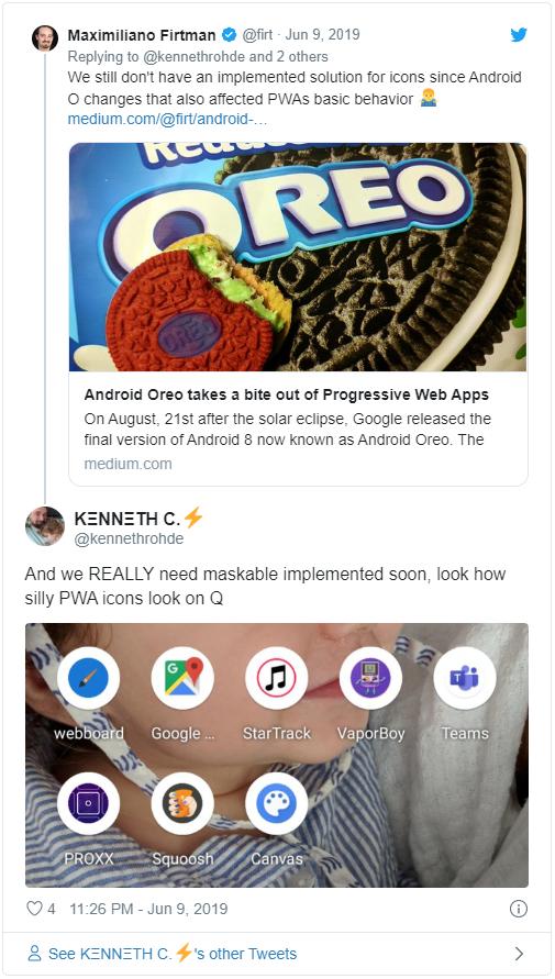 Прогрессивные веб-приложения в 2020 - 27