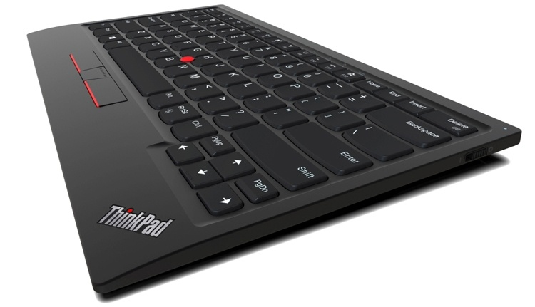 CES 2020: клавиатуре Lenovo ThinkPad TrackPoint Keyboard II не нужны провода