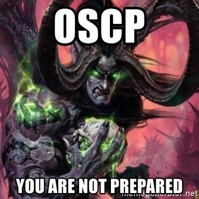 OSCP — мой опыт - 2