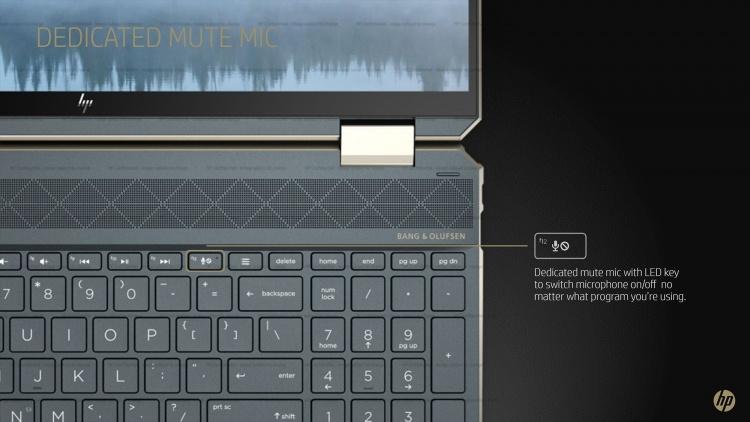 CES 2020: мощный и тонкий ноутбук HP Spectre x360 15 — 17 часов автономности и дисплей 4K