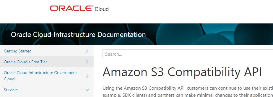 Oracle сама скопировала API у Amazon S3, и это совершенно нормально - 2