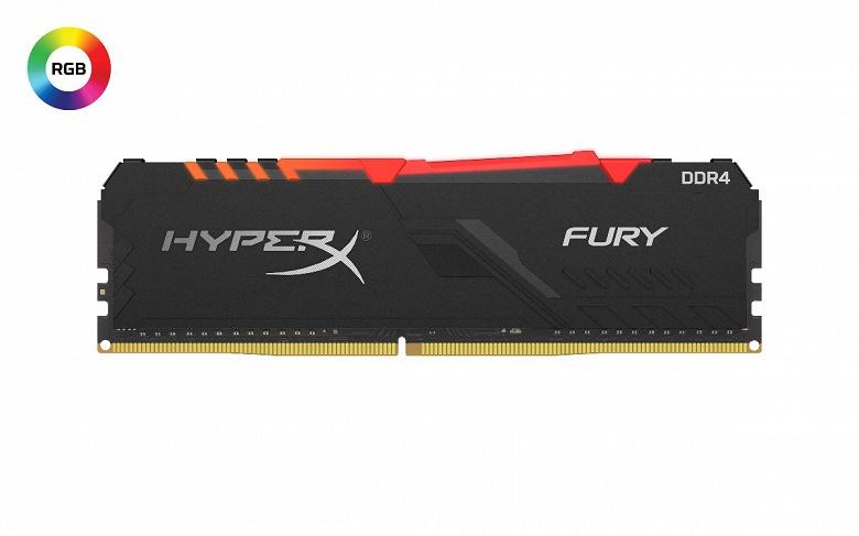На CES 2020 представлены модули памяти HyperX Fury DDR4 DIMM и Impact DDR4 SODIMM