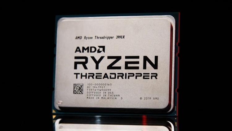 AMD представила Threadripper 3990X: 64-ядерный монстр для создателей контента