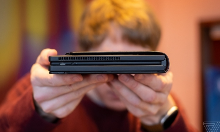 CES 2020: Lenovo ThinkPad X1 Fold — первый в мире складной ПК с гибким экраном