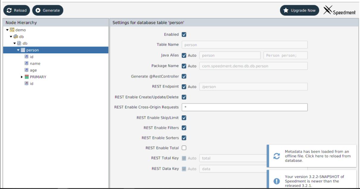 Java-Spring: Как полностью сгенерировать CRUD REST API с помощью Speedment - 3
