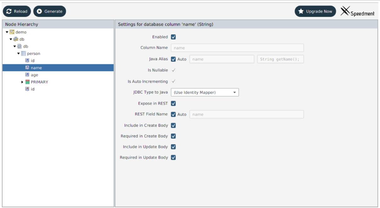 Java-Spring: Как полностью сгенерировать CRUD REST API с помощью Speedment - 4