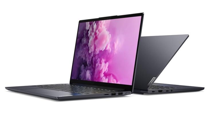 Ноутбук Lenovo Yoga Slim 7 получил версии с чипами AMD и Intel