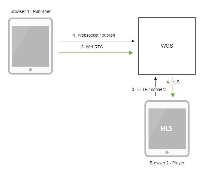 Обзор WCS 5.2 — WebRTC сервера для веб-разработчиков онлайн трансляций и видеочатов - 13