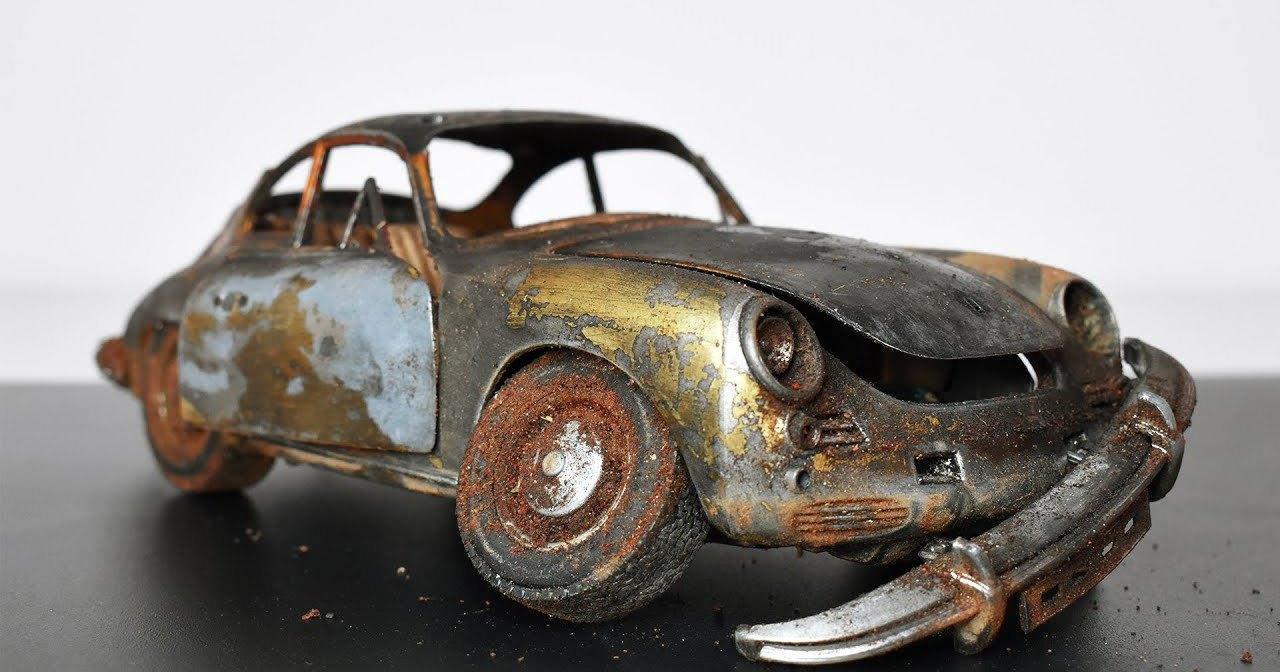 Реставрация ржавого Porsche: вторая жизнь крохотного авто