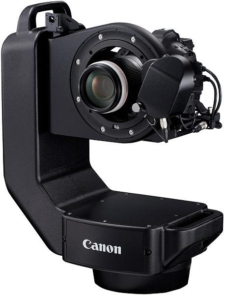 Роботизированная система Canon CR-S700R позволяет дистанционно управлять некоторыми камерами и объективами системы EOS