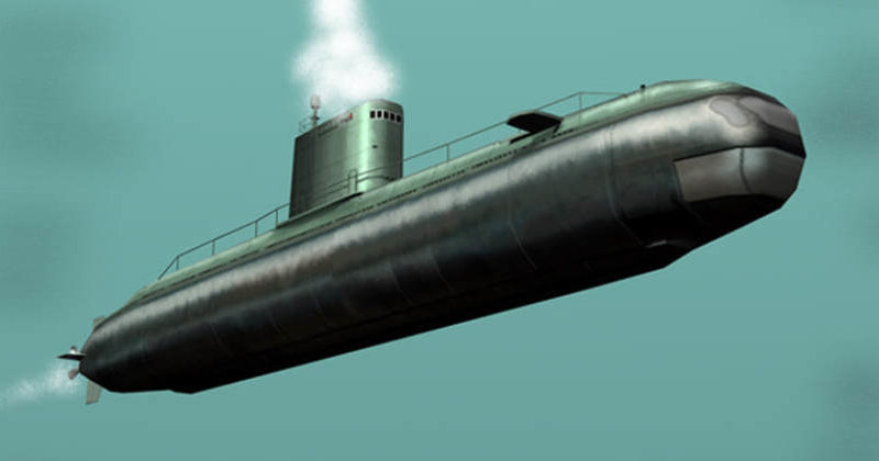 Спутник обнаружил ракетную субмарину КНДР