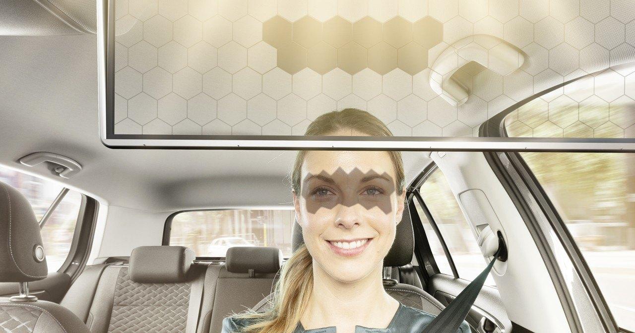 Bosch разработал «умный» солнцезащитный козырёк