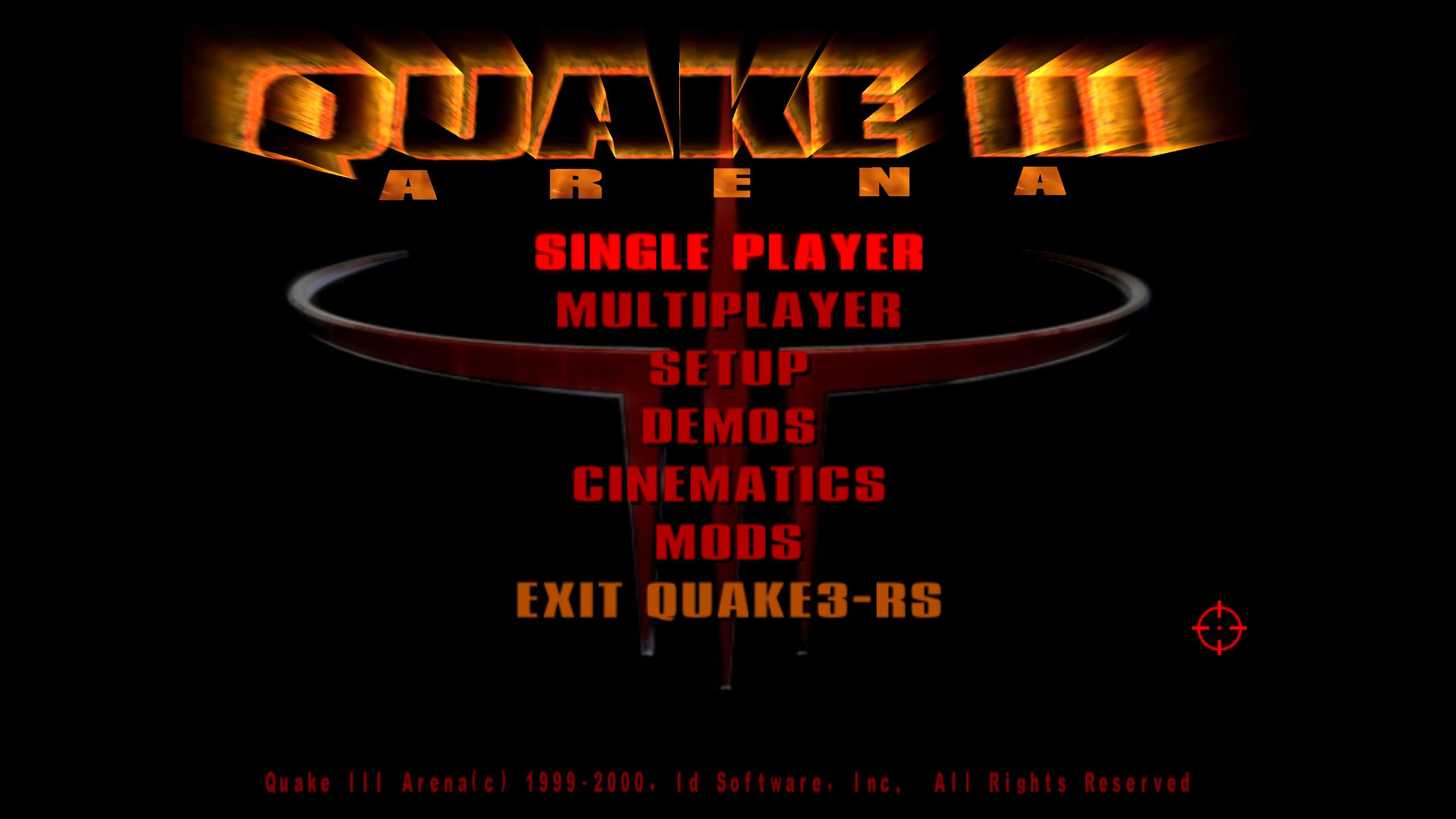 Перенос Quake 3 на Rust - 1