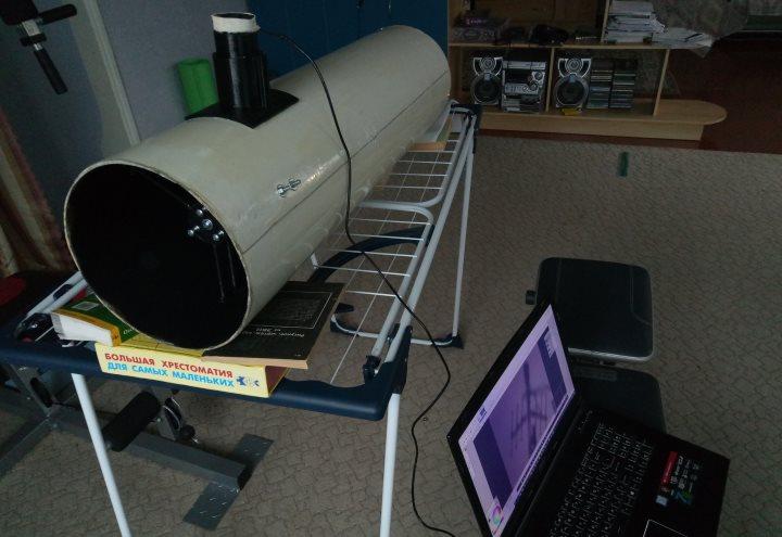 Проектирование и изготовление телескопа - 17