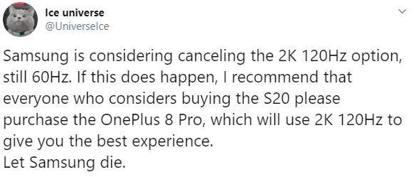 Samsung отменила самую важную функцию Galaxy S20, пользователи в шоке