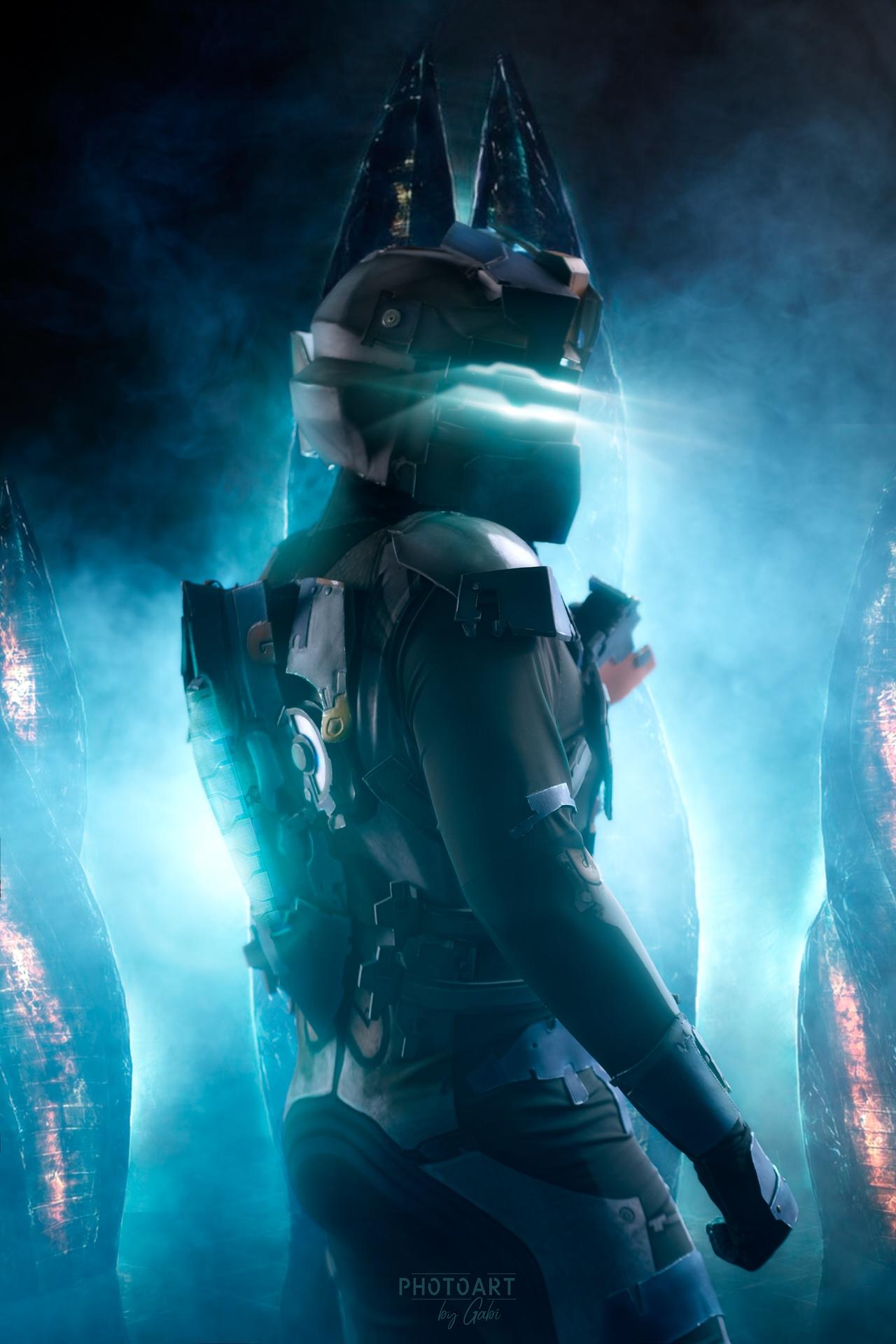 Как делается косплей. Cоздание костюма Advanced Suit Aйзека Кларка из игры Dead Space 2 - 2