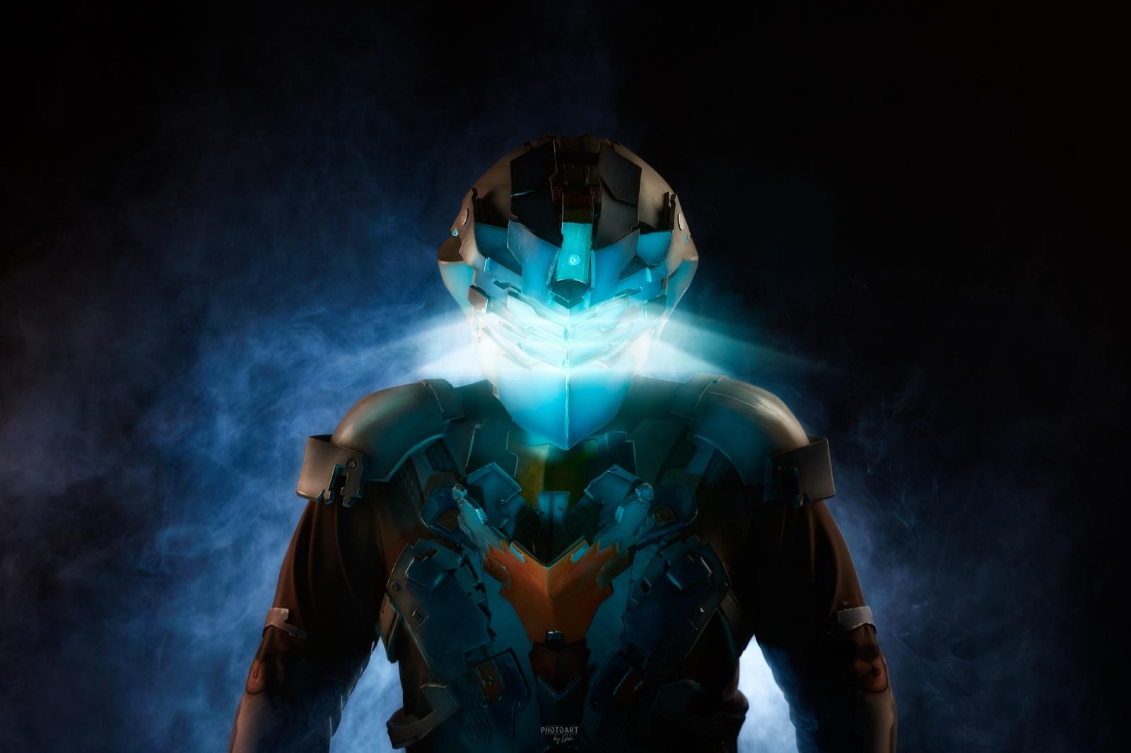 Как делается косплей. Cоздание костюма Advanced Suit Aйзека Кларка из игры Dead Space 2 - 1