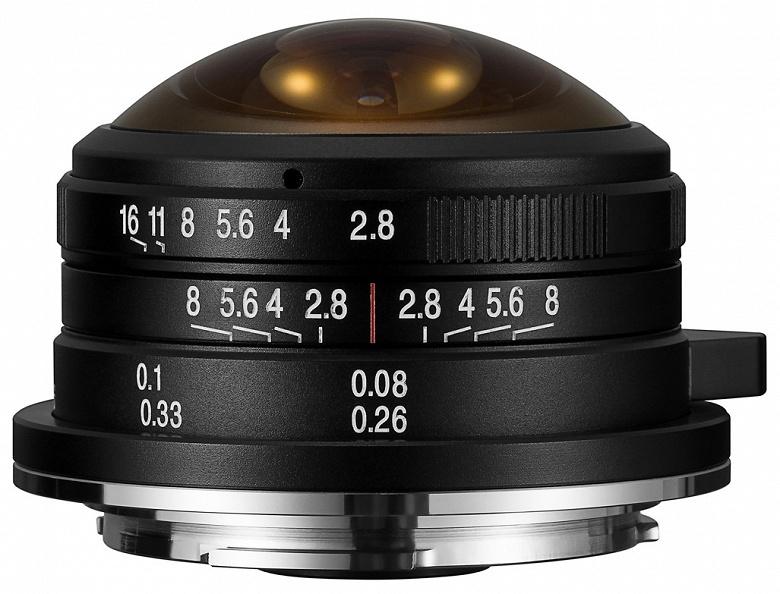 Объектив Laowa 4mm f/2.8 будет выпущен в вариантах с креплениями Sony E, Fuji X и Canon EF-M