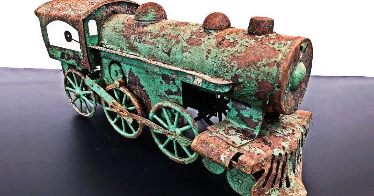 Реставрация винтажного локомотива: снова на ходу
