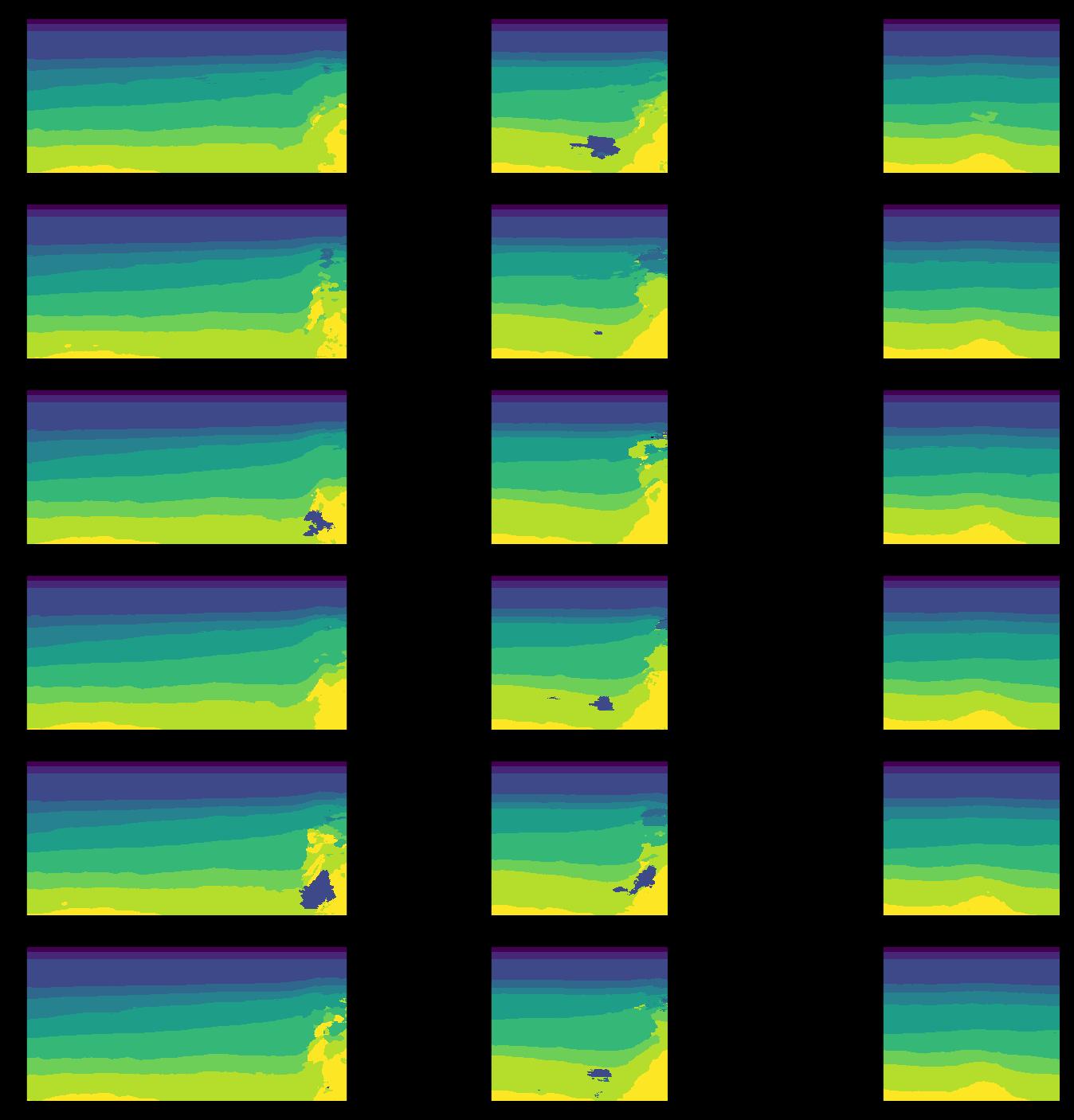 Примеры прогнозов сетей, обученных на разном объеме обучающей выборки