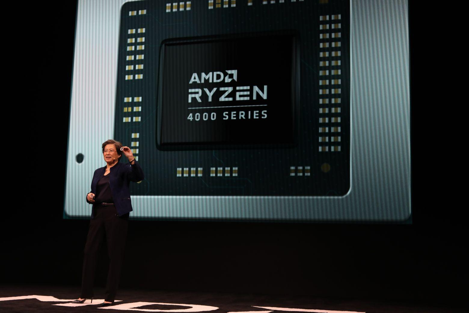 На CES 2020 AMD представила 64-ядерный десктопный Ryzen Threadripper 3990X, видеокарту Radeon RX 5600 и мобильные CPU - 5