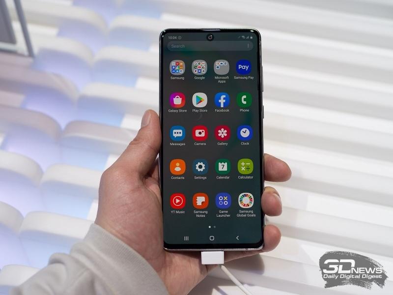 Новая статья: Первый взгляд на смартфоны Samsung Galaxy Note10 Lite и Galaxy S10 Lite