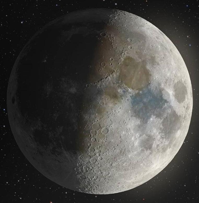 Посмотрите на очень детальное изображение Луны