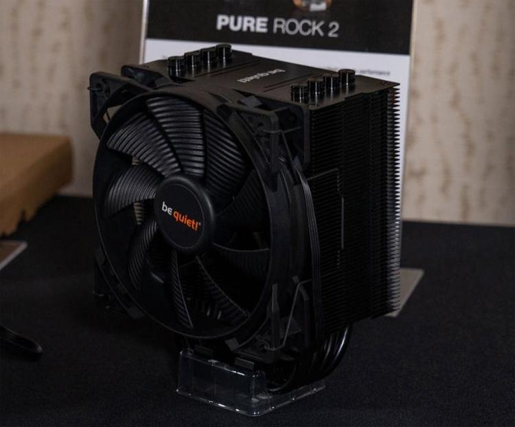Представлены процессорные кулеры be quiet! Shadow Rock 3 и Pure Rock 2