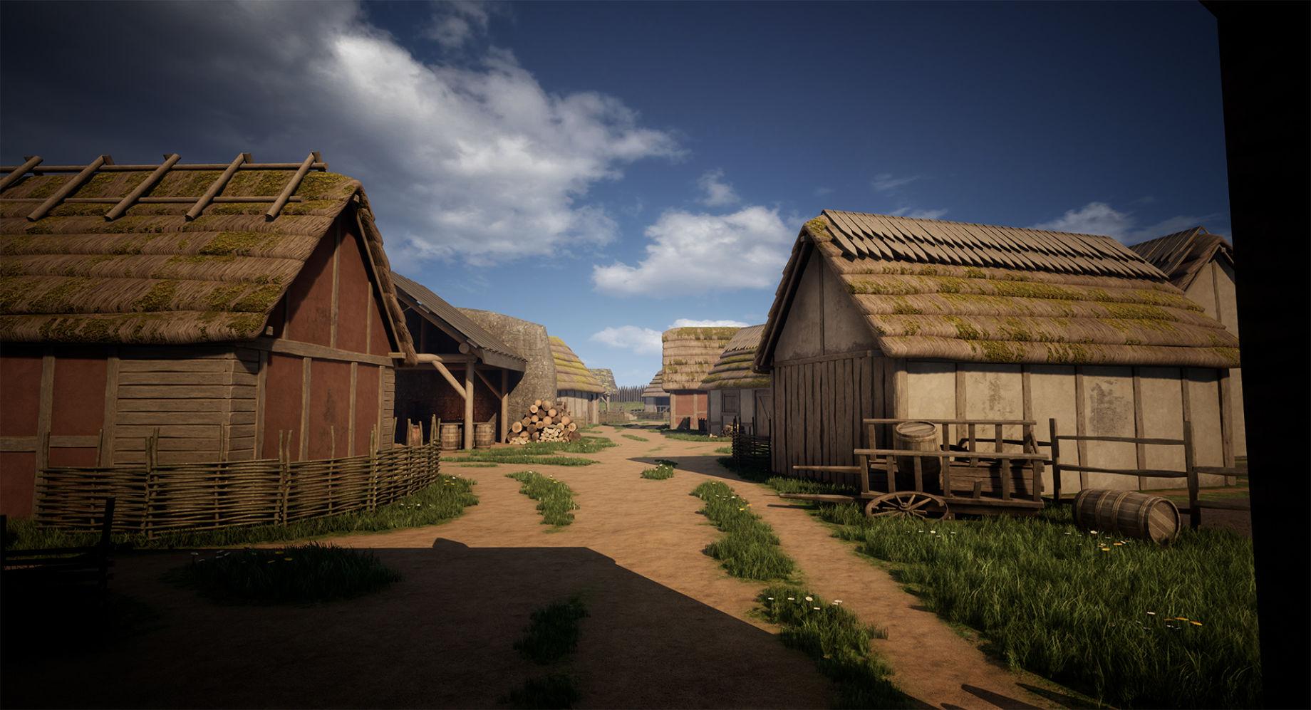 Создание средневекового VR-музея - 1
