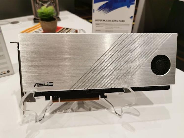 ASUS Hyper M.2 x16 Gen 4: четыре SSD-накопителя в виде одной карты расширения