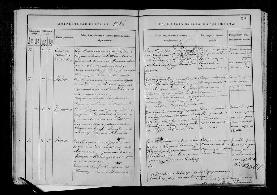 Генеалогические исследования — метрические книги, переписи, архивы, открытые базы - 1