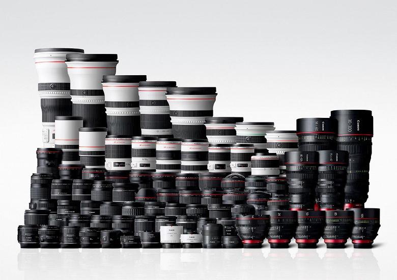 Компания Canon прекратила разработку объективов для зеркальных камер