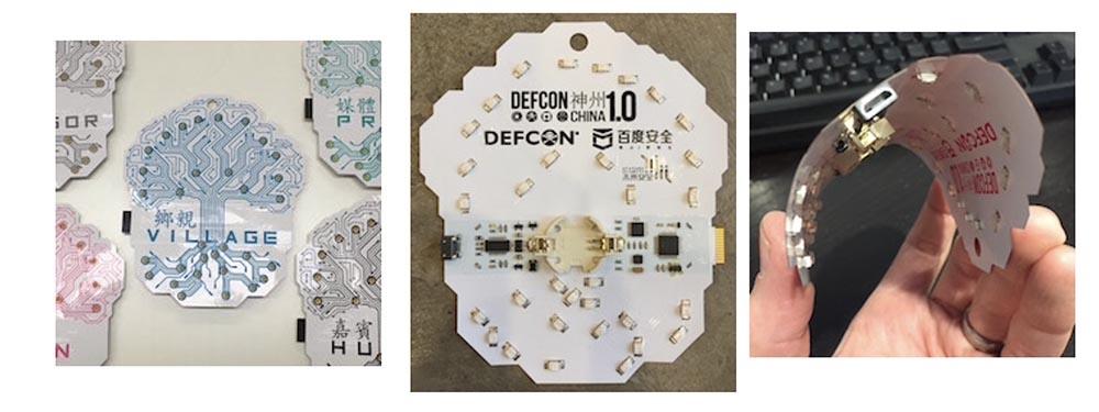 Конференция DefCon 27: за кулисами создания электронных бэйджей. Часть 1 - 4