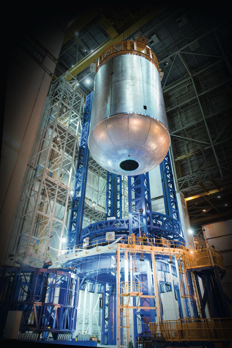 Потомок «шаттла»: центральная ступень сверхтяжелой ракеты