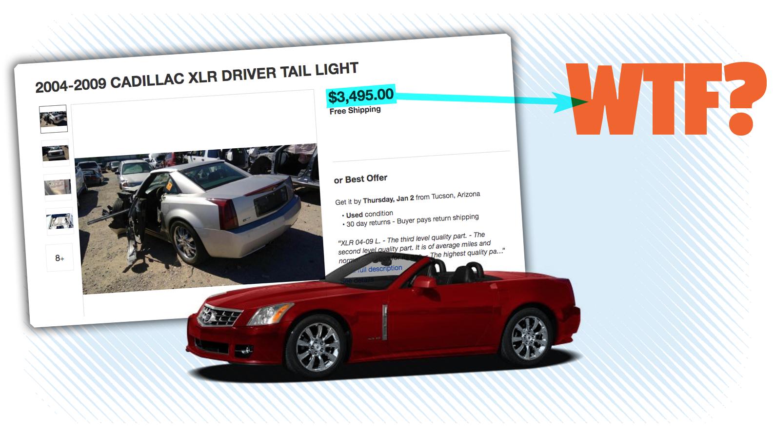 Почему задние фонари на Cadillac XLR могут стоить больше, чем подержанная Corolla - 1