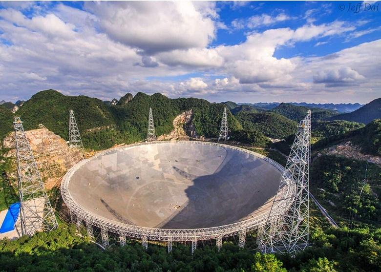 Самый огромный радиотелескоп в мире полностью введён к эксплуатацию