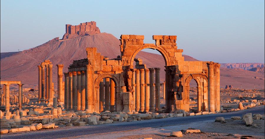 Триумфальная арка в Пальмире оценена в миллион долларов