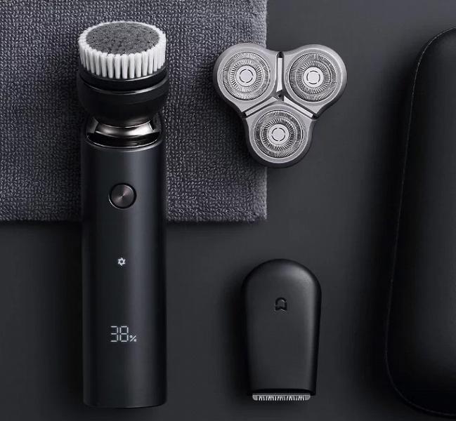 Xiaomi выпустила новую бритву со сменными головками и двойными лезвиями