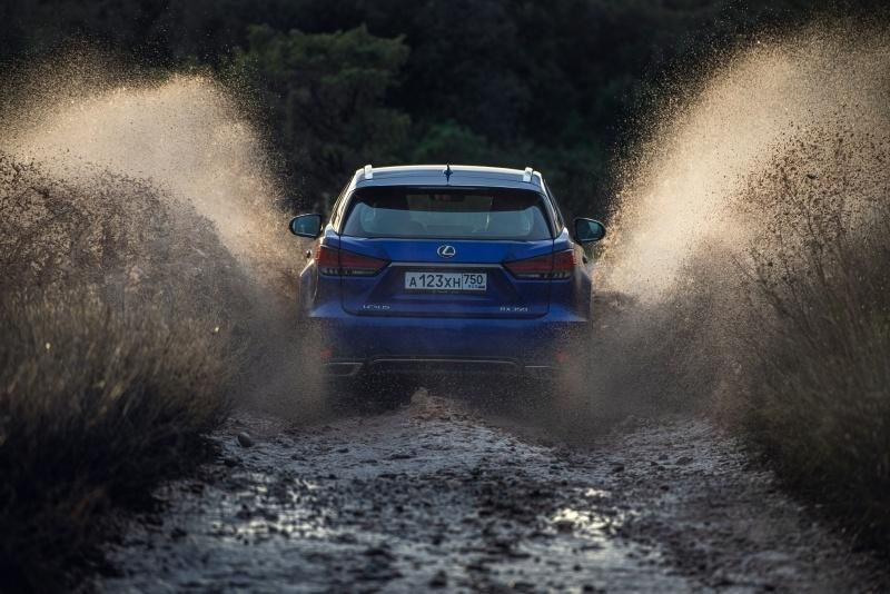 Новая статья: Тест-драйв обновлённого Lexus RX: уйдите с маршрута