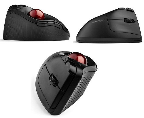 Представлен трекбол Pro Fit Ergo Vertical Wireless Trackball