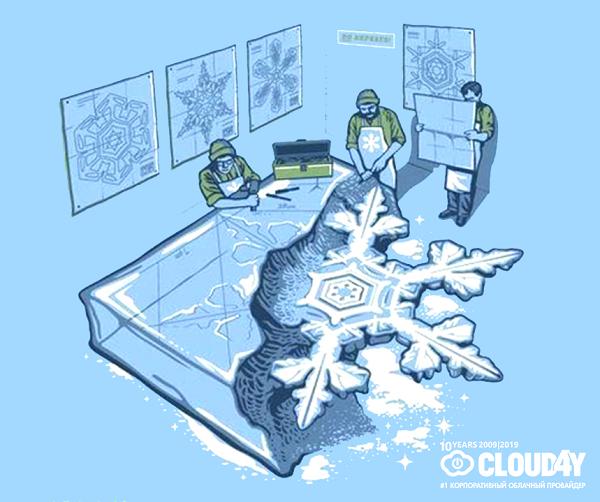 Великая теория снежинок - 1