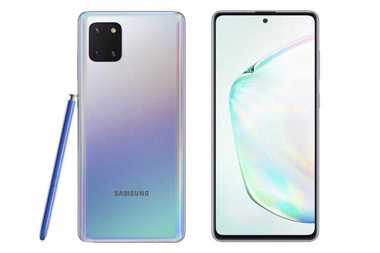 Samsung Note 10 Lite обзавелся датой выхода