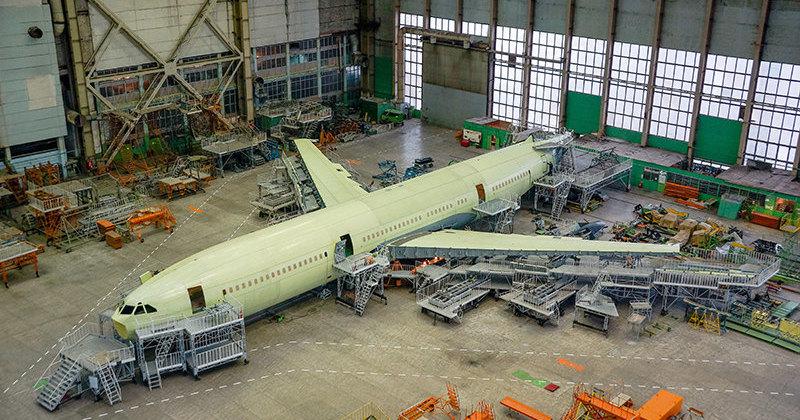 Первый полёт Ил-96-400М состоится в 2021 году