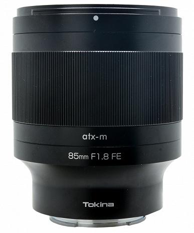 Появились изображения и спецификации объектива Tokina ATX-M 85mm f/1.8 FE
