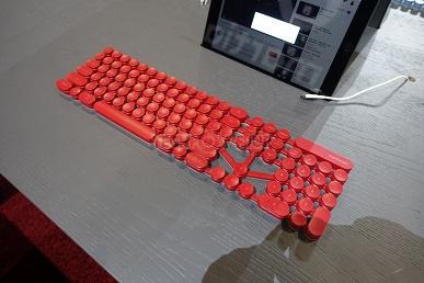 Martiantec Martian 104 — возможно, самый странный прототип клавиатуры, показанный на CES
