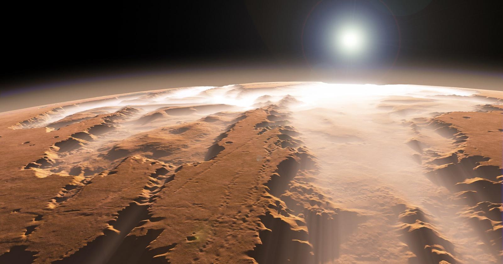 Почему на Марсе не бывает облаков: космическая загадка