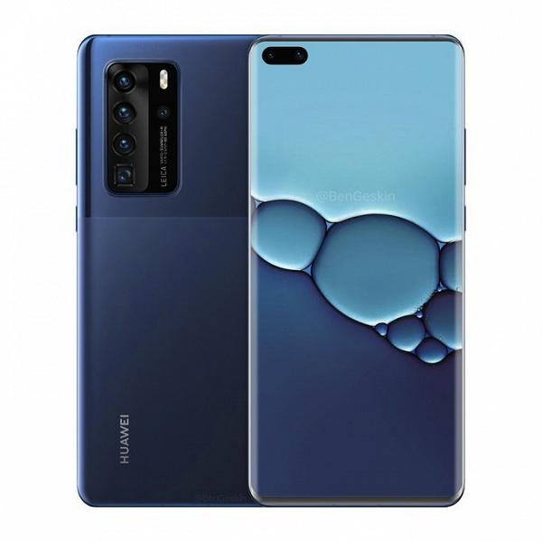 Так на самом деле выглядит Huawei P40 Pro
