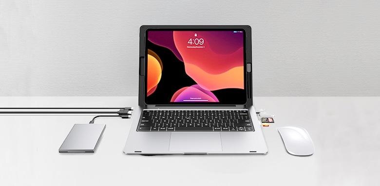 Doqo: аксессуар, превращающий iPad Pro в аналог MacBook - 2