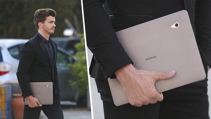 Doqo: аксессуар, превращающий iPad Pro в аналог MacBook